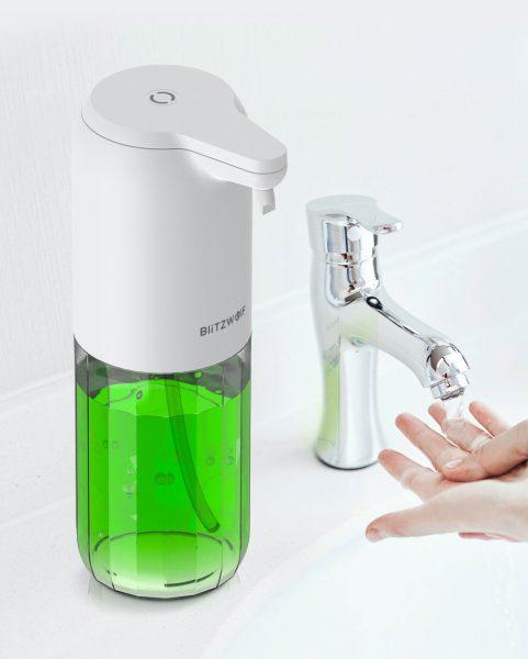 IPX4 víz védelemmel is rendelkezik