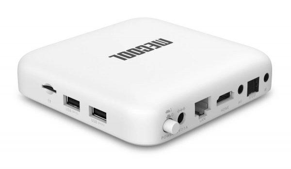 A Mecook KM2 tv box csatlakozási lehetőségei