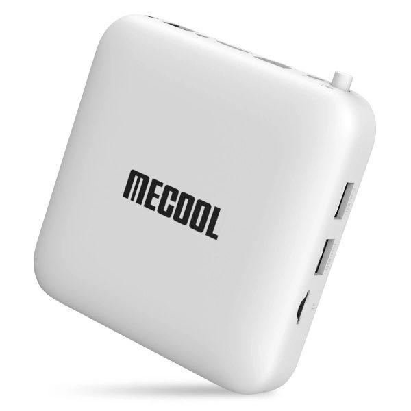 A Mecool KM2 TV Box állítva