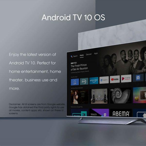 Az Android 10 operációs rendszer fut rajta
