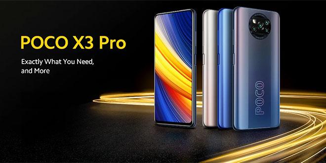 Poco X3 Pro mobiltelefon bemutató