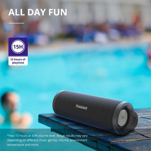 Tronsmart Force 2 hangszó akár a medencénél is használható