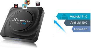 X88 Pro 20 TV Box teszt - Android 11 és 8GB RAM