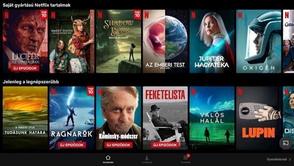 A Netflix csak SD-ben nézhető az A95X F4 TV okosítón
