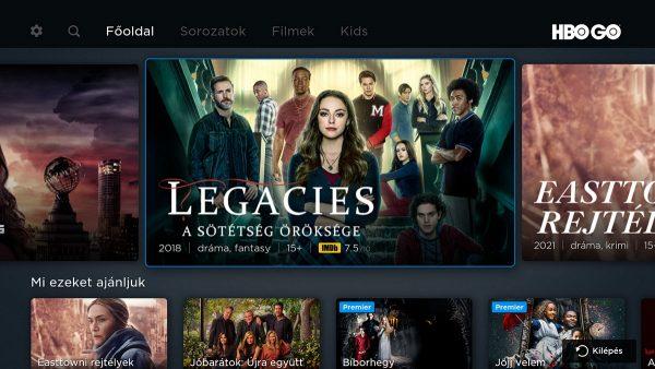 Az HBO GO is jól működik