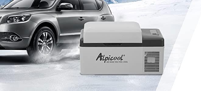 Alpicool C20 hordozható mini hűtő