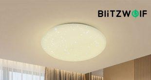 Blitzwolf® BW-LT20 mennyezeti lámpa bemutató