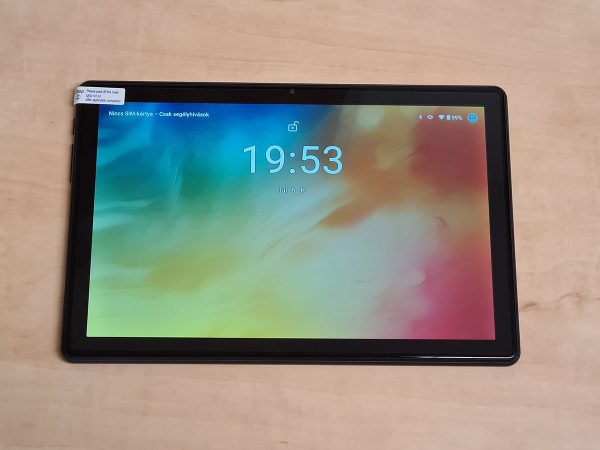 A tablet eleje