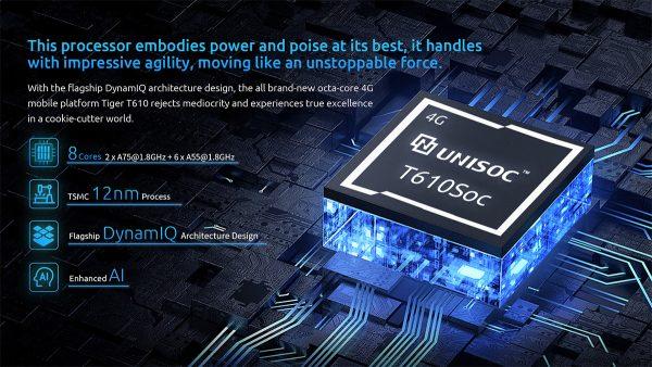 UNISOC T610 8 magos CPU