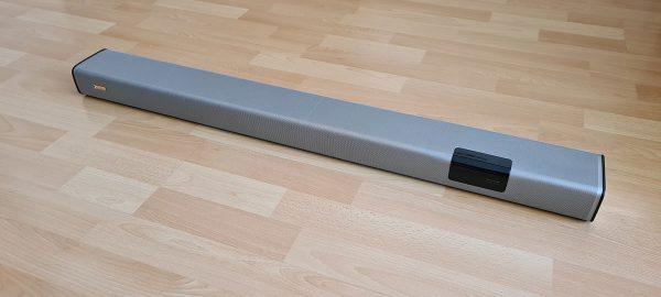A soundbar külseje más szögből