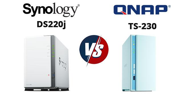 Synology DS220j vagy Qnap TS-230 NAS
